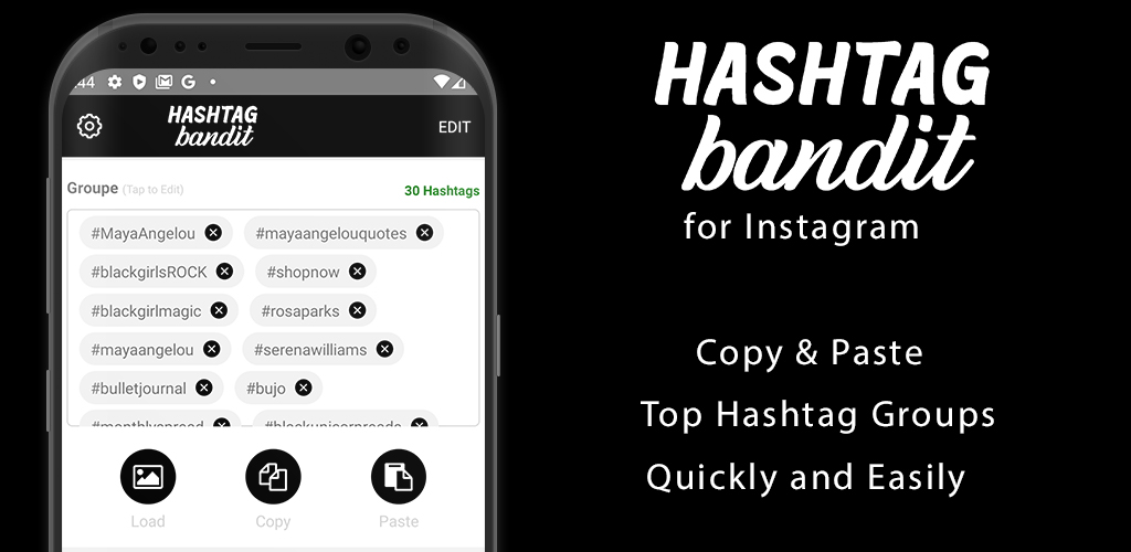 Hashtag Bandit Featured Launch Image