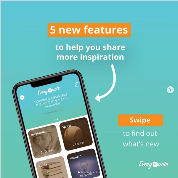 EveryQuote App New Features